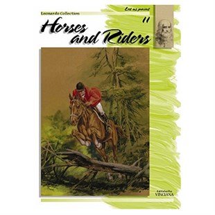 Leonardo Collection Desen Kitabı Horses And Riders N: 11 Atlar ve Jokeyler N: 11