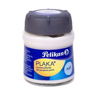 Pelikan Plaka Boyası Matt 50 ml 01 White