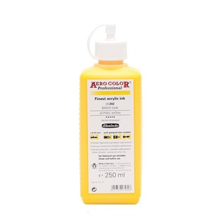 Schmincke Aero Color Professional Akrilik Airbrush Mürekkebi 250 ml 202 Primary Yellow