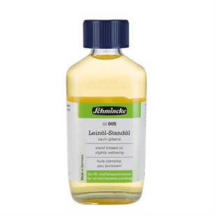 Schmincke Medium 005 Stand Linseed Oil Keten Yağı 200 ml