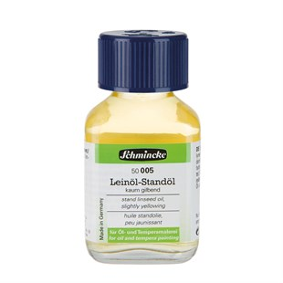 Schmincke Medium 005 Stand Linseed Oil Keten Yağı 60 ml