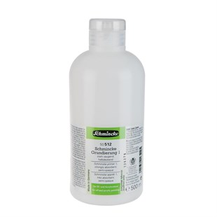 Schmincke Medium 512 Primer 1 Tam Emici Astar 500 Ml