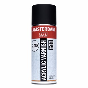 Talens Amsterdam Acrylic Varnish Glossy No:114 400 ml Sprey
