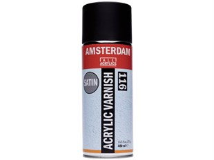 Talens Amsterdam Acrylic Varnish Saten No:116 400 ml Sprey