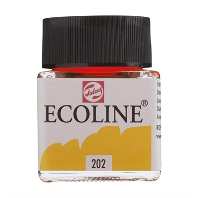 Talens Ecoline Sıvı Sulu Boya 30 ml 202 Deep Yellow