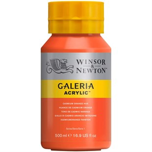 Winsor Newton Galeria Akrilik Boya 500 ml CADMİUM ORANGE HUE 090